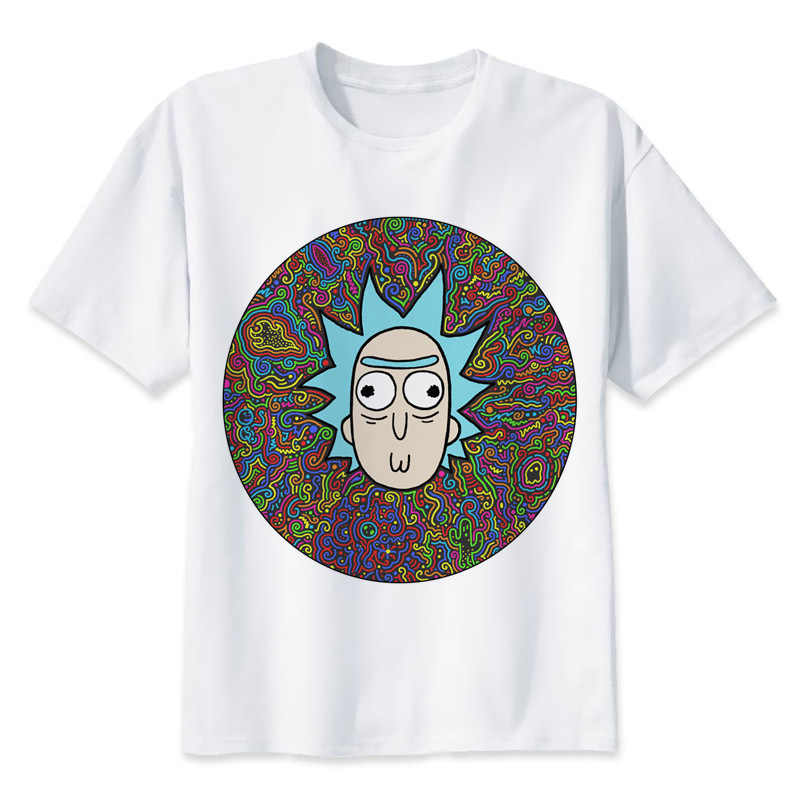 b6a2ef94d Detail Feedback Questions about Pickle Rick And Morty trippy psychedelic  funny T shirt men Hip Hop anime cartoon Rick y Morty T shirt Fashion male  tshirt ...