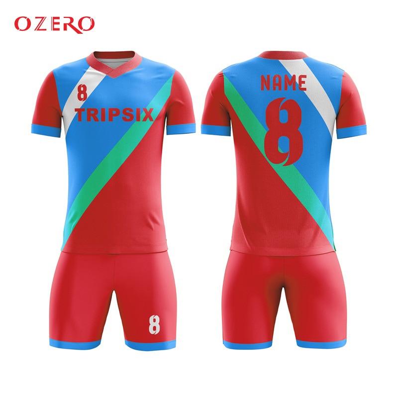Us 140 0 Men S T Shirts Custom Football Jersey Tailandia Camisetas De Futbol Fussball Trikot In Soccer Jerseys From Sports Entertainment On