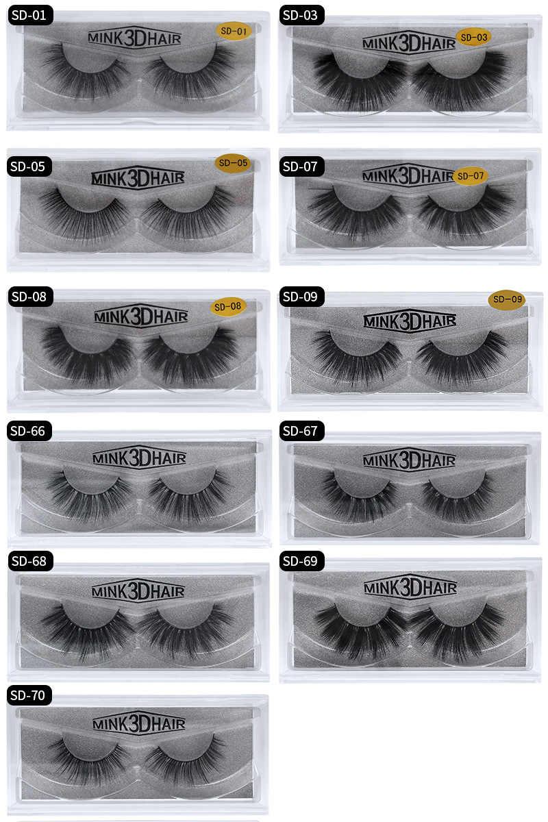 ea5fd4288bf ... Mangodot Mink Eyelashes 3D Lashes Thick HandMade Cilios Eyelash High  quality maquiagem Luxury Mink Lashes Volume ...