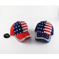 2017 American Flag Men S Snapback Caps Women Baseball Cap Girls Hat Teen S Rhinestone Sun