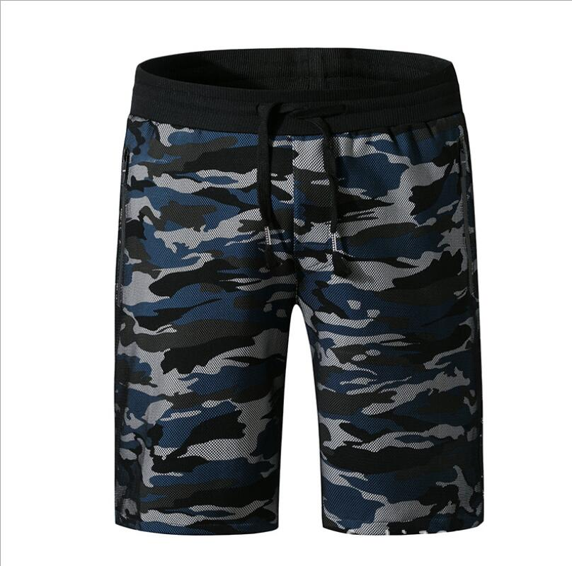 Cargo Shorts Clubwear Elastic Military Camouflage New-Fashion Male Casual -D66 Four-Sided