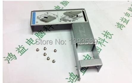 """Free ship , HDD tray 9W8C4 Y004G 2.5"""" adapter 3.5"""" F238F SAS/SATA Tray / Caddy + screws FOR /d962c/f9541/373211-001/42r4131"""