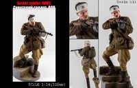 Unpainted Kit 1/ 16 120mm Soviet Soldier 120mm figure Historical Figure Resin Kit