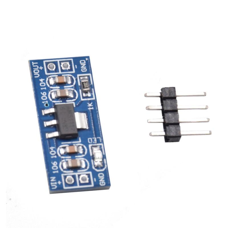 10 Pcs AMS1117 5V (6-12V) Turn To 5V Power Supply Module AMS1117-5.0 For Arduino