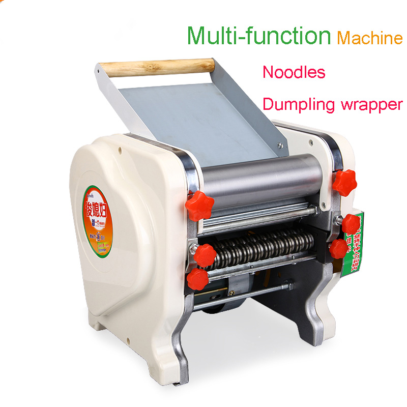 Electric Noodle Press Stainless Steel Noodle Machine Dumpling Wrapper Machine