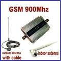 100% de alta qualidade de alto ganho GSM 900 Mhz Mini telefone celular amplificador de sinal RF repetidor + 10 m + otário antena