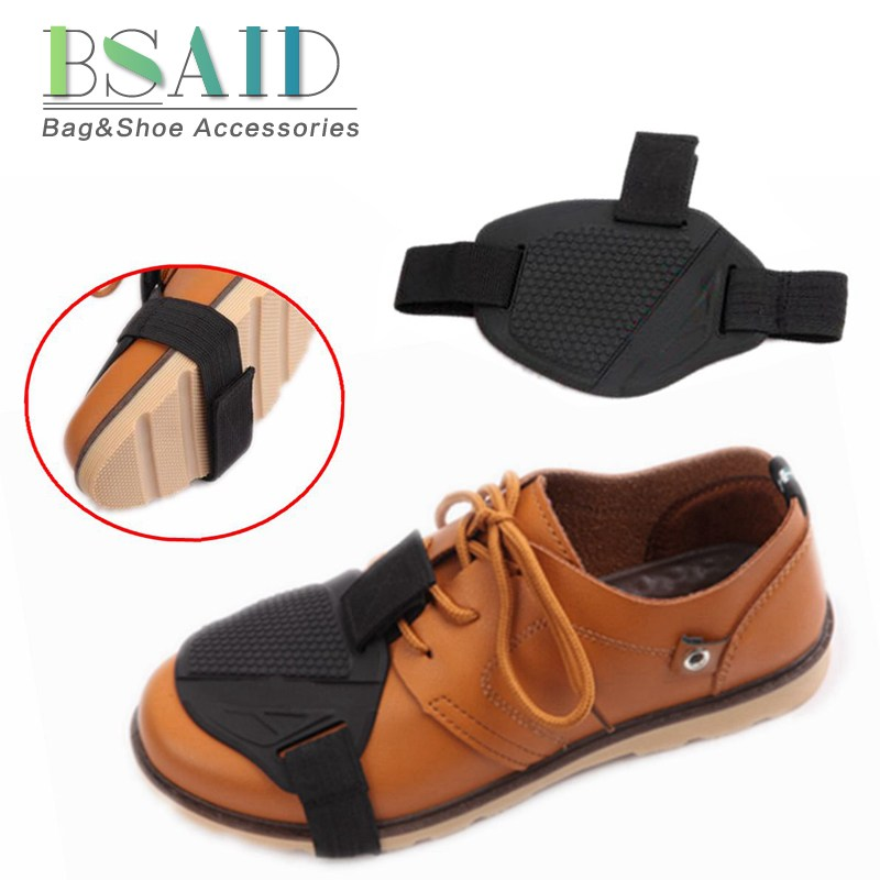 цены на BSAID Wear-resisting Motorcycle Gear Shift Cover Boot Shoes Protector Gear Shifter Guards Riding Shoes Scuff Mark Boots Covers в интернет-магазинах