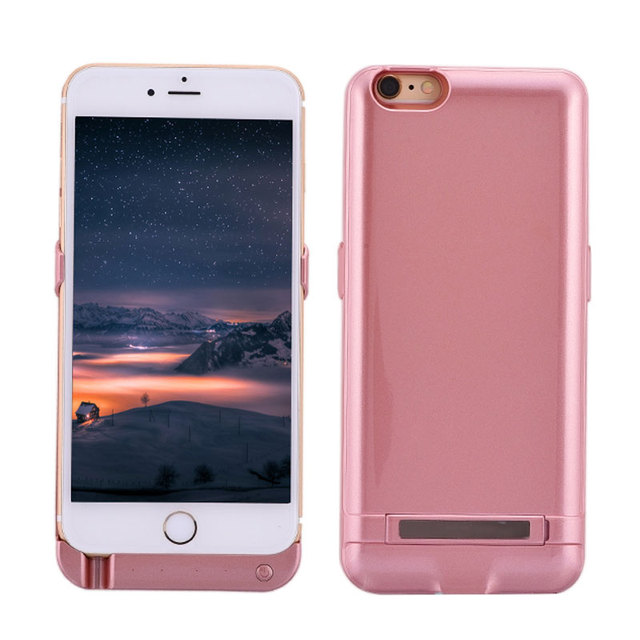 5500mAh/7500mAh Portable External Backup Battery Charger Power Bank Pack Case Cover for Apple iPhone 6 6s 6/6s Plus Charger Case