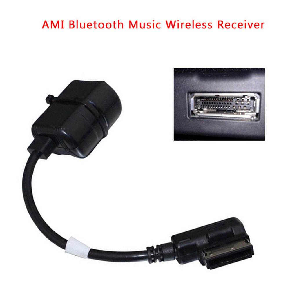 AMI MMI Bluetooth Wireless Module Radio Stereo AUX Cable Adapter for Audi iphone Samsung Bluetooth Music Wireless Receiver