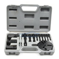 Car AC Tool R134a R12 Compressor Clutch Sucker Puller Kit Air Conditioning Repair Tools Qucik Auction Puller Gray Box SD001