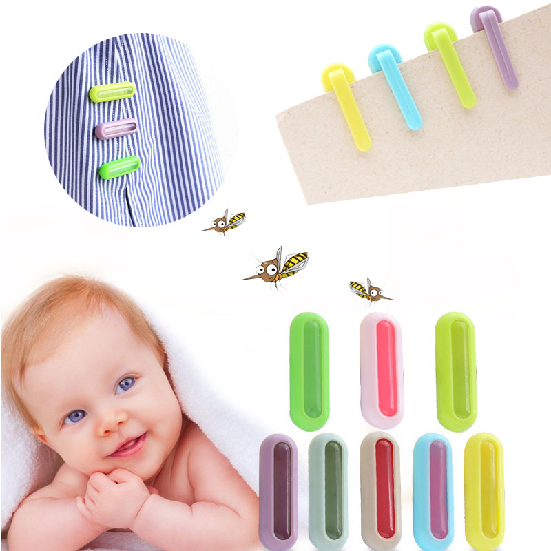 Color Women Drive 1PC Repellent Buckle Anti-mosquito Cute Baby Practical Trendy Midge Button Clothes Accessories