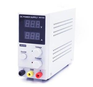 Image 4 - New 30V 10A LED Display Adjustable Switching Voltage Regulation DC Power Supply LW K3010D Laptop Repair Rework