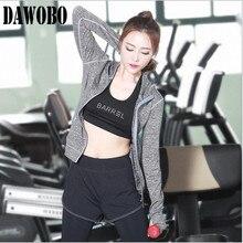 2016 New Women Yoga Sport Suit 3 Piece Female Zipper Long Sleeve Hoodies fitness clothes running