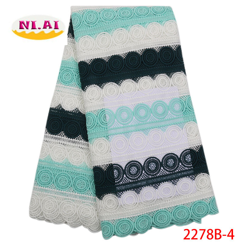 High Quality Nigerian French Swiss Voile Lace In Switzerland For Party 2019 New Design African Guipure Laces Fabric XY2278B-2