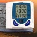 1 PC Digital LCD Pulso Monitor de Pressão Arterial Braço Com Taxa de Batimento Cardíaco Medida De Pulso Monitores de Cuidados de Saúde Moda