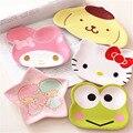 Cartoon Baby Melamine Plate for Girl Boy Children Dinner Cute Plate Kids Feeding Plate 12*14cm Children Gift