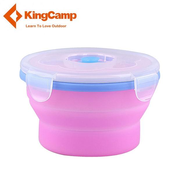 KingCamp 540 ML Silicone Pliage Tasse de qualité Alimentaire SANS BPA Pliable Tasses D'eau Grande Capacit Pique-Nique Vaisselle pour le Camping