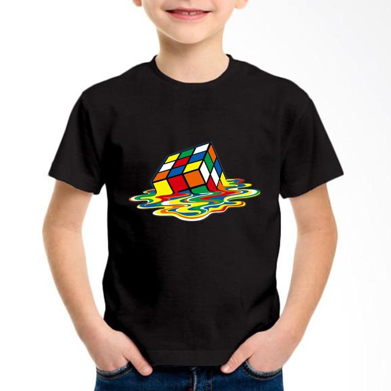 Jungen Kleidung Mutter & Kinder Gkt010 Professionelles Design Ernst The Big Bang Theory Gedruckt Kinder Baumwolle T-shirts Kinder Bunte Würfel Sommer Tees Jungen/mädchen Mode Tops Baby Kleidung