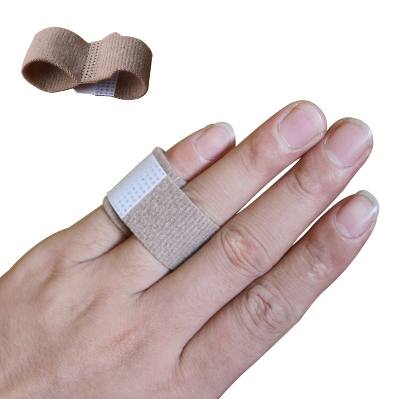 1Pcs Fabric Toe Finger Straightener Hammer Toe Valgus Corrector Bandage Toe Separator Splint Wraps