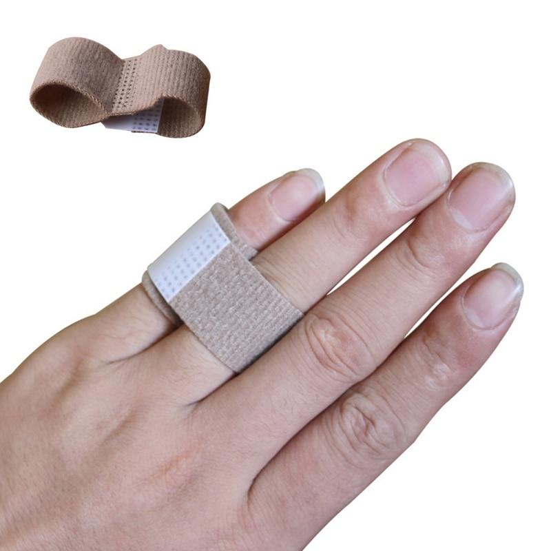 1Pcs Fabric Toe Finger Straightener Hammer Toe Valgus Corrector Bandage Toe Separator Splint Wraps
