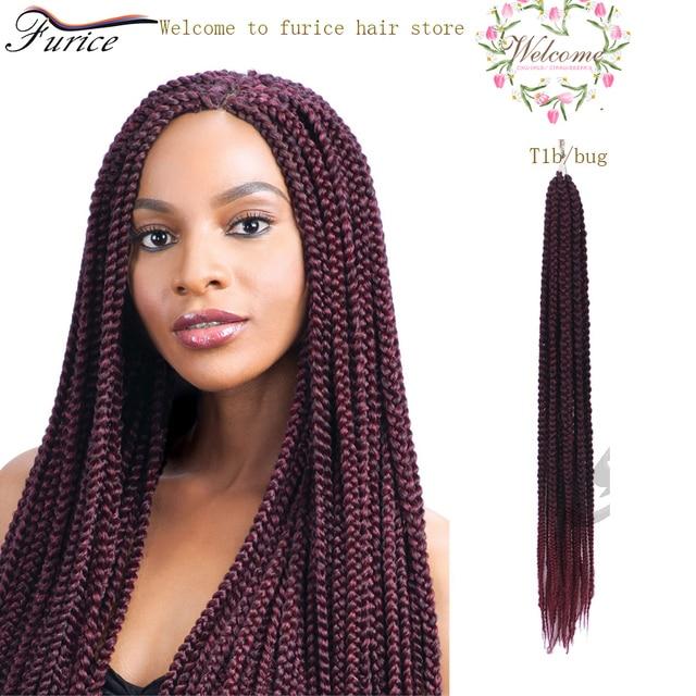 24 Inch Crochet 3x Box Braids Hair Extension Crochet Braids Curly