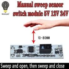 Sensor de escaneo de corta distancia, Sensor de mano de barrido, módulo de interruptor de 36W 3A, voltaje constante para Auto Smart Home, Compatible con XK GK 4010A
