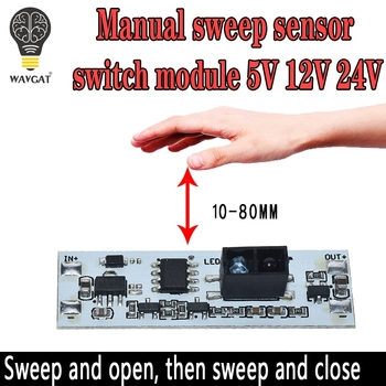 Short Distance Scan Sensor Sweep Hand Switch Module 36W 3A Constant Voltage for Auto Smart Home Compatible XK-GK-4010A - discount item  17% OFF Active Components