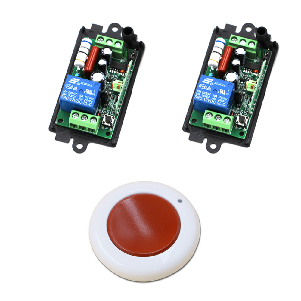 RF Remote Control Switch Wireless Remote Controller System 110V 220V 1CH 10A Relay Receiver Transmitter Learning Code 315/433Mhz конструктор pilsan brick 43 детали 03 251