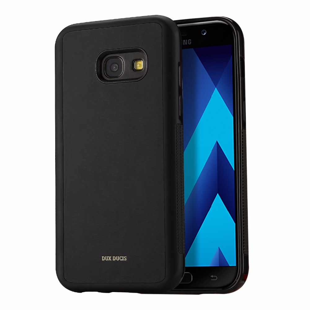 for samsung a3 2017 case silicone tpu leather back cover card type phone protector cases