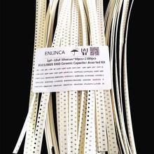 2500 יח\חבילה 0603 0805 SMD קרמיקה קבלים מגוון קיט 1pF ~ 10uF SMD קרמיקה קבלים דגימות סט 22PF 220PF קבלים