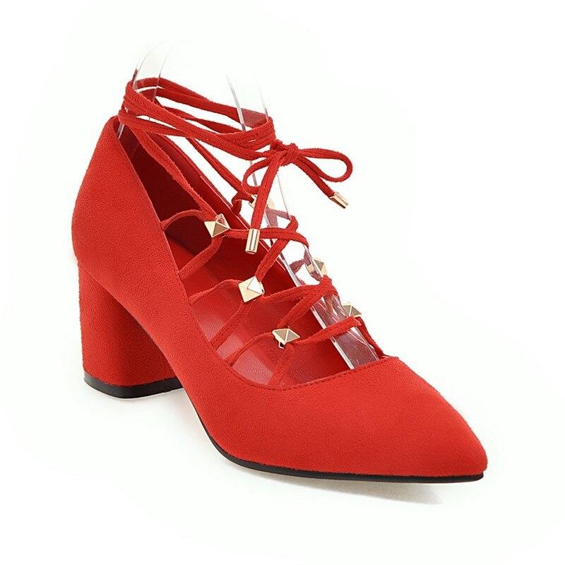 red Femmes Qualité Talon Naturel Black Gladiateur En Haute Talons Pompes Daim Chaussures De yellow Sxw7vEa
