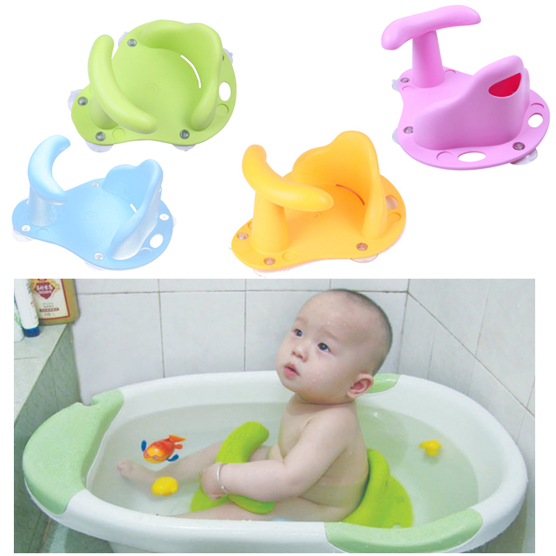 Baby Bath Seat Infant Kid Child Toddler Bath Seat Ring Non Slip Anti ...