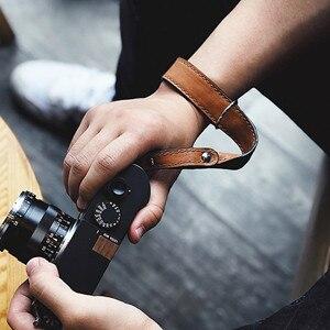 Image 3 - יד עור בעבודת יד מצלמה ליקה Fuji Sony אולימפוס Canon ניקון ראי מצלמה