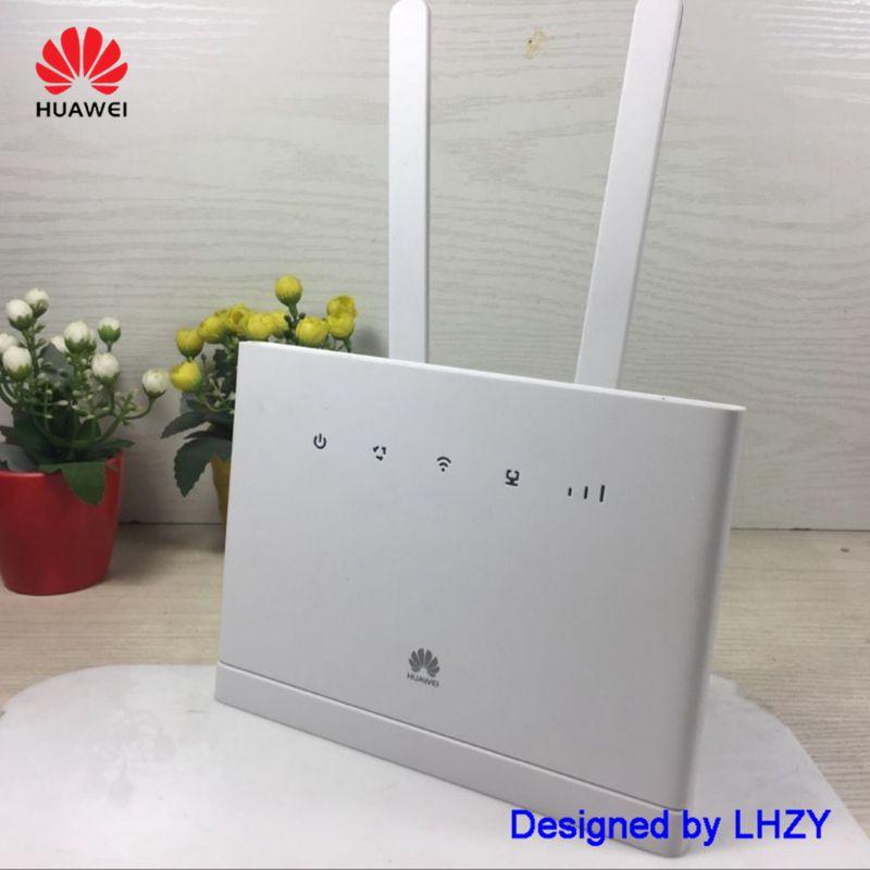 Débloqué HUAWEI B315 B315S-22 LTE CPE 150 Mbps 4g LTE FDD TDD passerelle sans fil wifi Routeur avec sim carte slot PK B310 B593 E5186