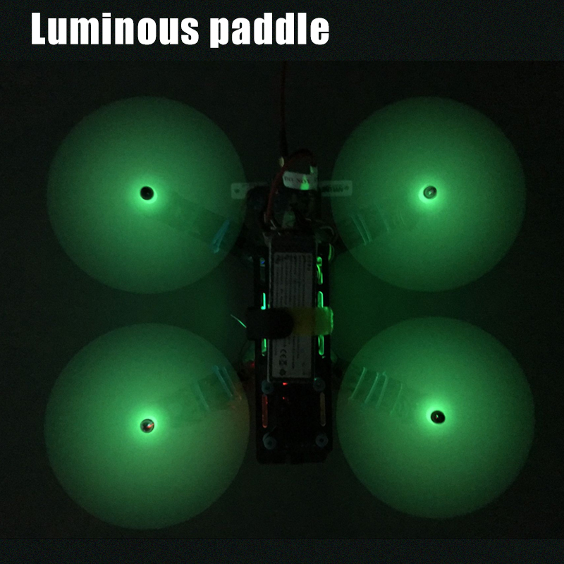 6 pairs 5040 5045 <font><b>6040</b></font> 6045 Luminous <font><b>Propellers</b></font> Prop Paddles For RC FPV Quadcopter Multi-Copter image