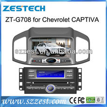 ZESTECH Car Stereo Navigation Satnav GPS auto parts dvd player for Chevrolet Captiva