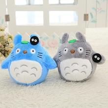 1pcs 20cm HOT sale Japan Totoro dolls classic gray blue tigers Stuffed plush toys dolls children