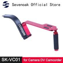 все цены на Sevenoak SK-VC01 Aluminum Shoulder Support Camera Rig for Canon EOS 6D 7D Nikon Sony 4/3 Camera Mini DV Camcorder Max Load 5KG