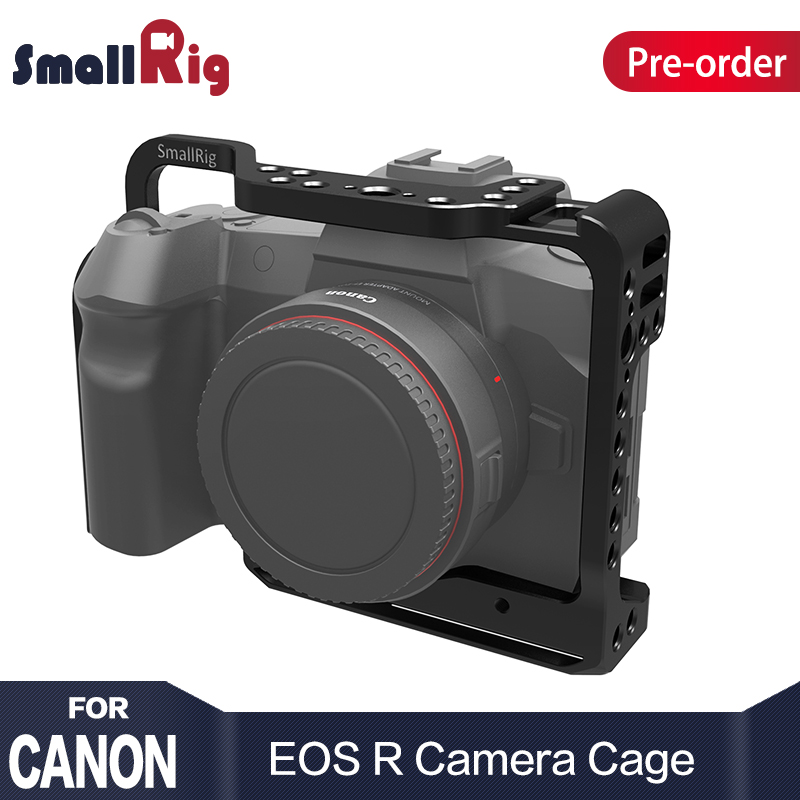 цена на SmallRig Camera Cage for Canon EOS R with Cold Shoe Mount Thread Holes for Magic Arm Microphone Attach 2251