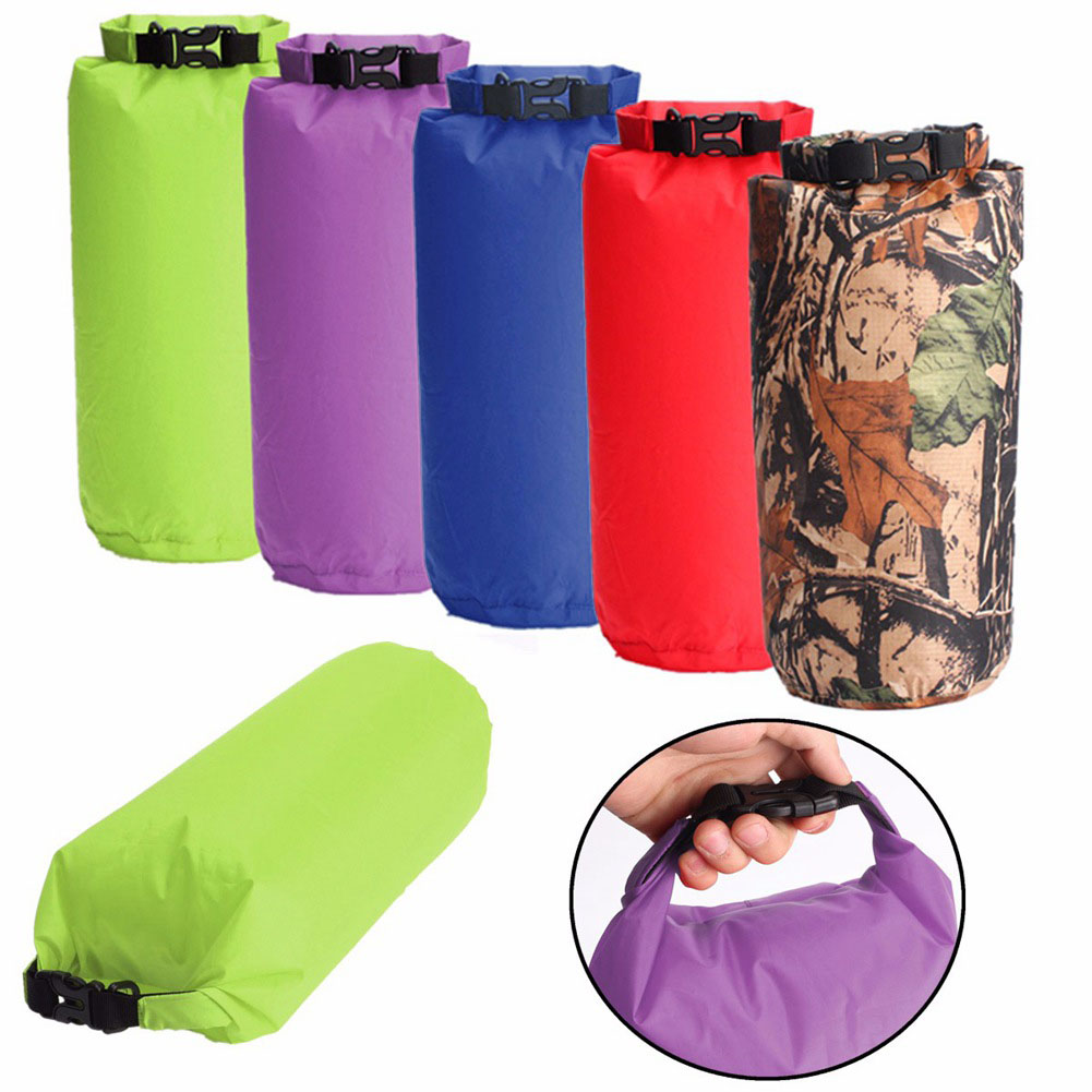 Portable 8L Outdoor Waterproof Bag Dry Bag Compression Sack Kayaking Lightweight Travel Drift Hiking Camping Rafting Supplies