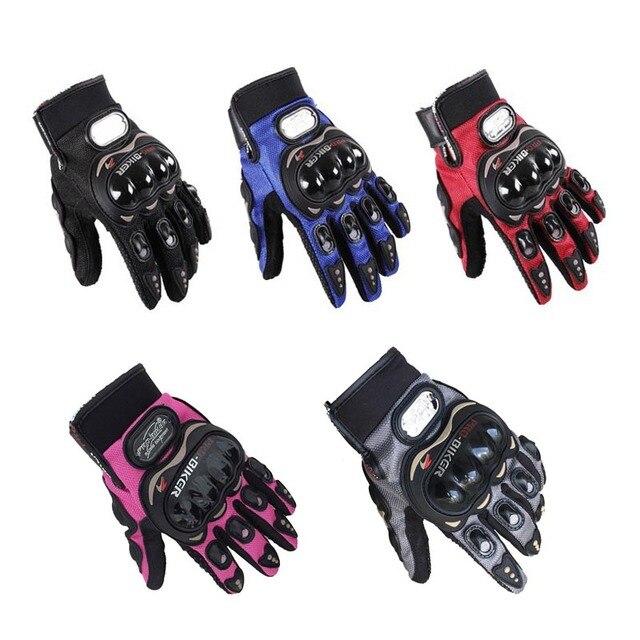 Ladies Biker Gloves 6
