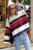 Toda a Partida Vento Colégio Solto Causal Listrado Colorido Nova Moda Feminina Blusas