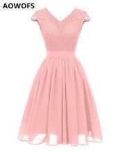 AOWOFS платье для Для женщин элегантные платья без рукавов без бретелек Размеры S-2XL 2019 Весна новое поступление CML21 Прямая поставка