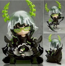 10cm Q version BLACK ROCK SHOOTER DEAD MASTER movable action figure toys collection christmas toy doll