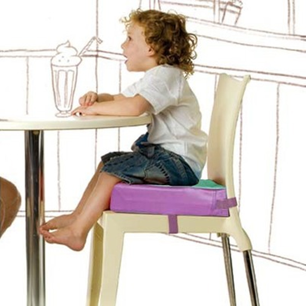 Washable Lightweight Square Abrasion-resistant Increased Kids Children Soft Home Office Detachable Dining Chair Cushion Portable