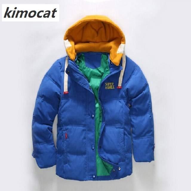 cde457447131 Online Shop High Quality Boy Winter Coat kids clothes 2017 New Boys ...