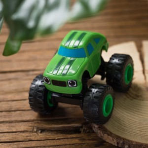 Image 5 - 6pcs Blaze Car Toys 1:64 Vehicles Diecast Toy the Monster Machines Car Russian Miracle Crusher Truck Toys Racing Cars Mountain