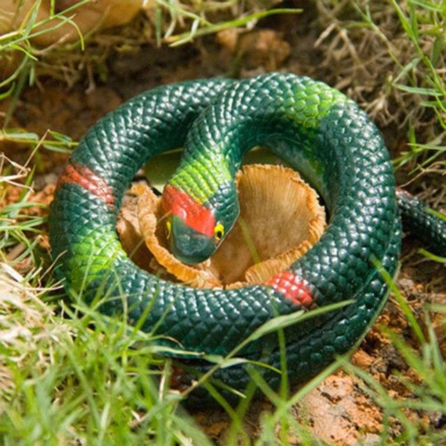 Zocdou 1 Piece 60cm Emulation Fake Simulation Snake Serpent April Fools Day Statue Figurine Crafts Garden Diy Ornament