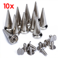 10-in-1 25mm diameter bullet rivet shoes accessories