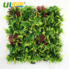 ULAND 1pc 25x25cm Pc Home Garden Decor Artificial Red Flowers Hedge Plastic Plants Fence Outdoor Panels